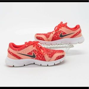 Cute Nike Pink Cheetah Running Shoes